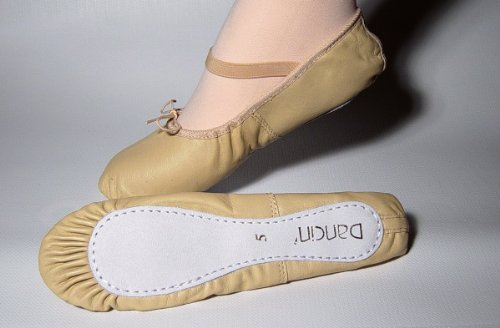 Dancin Soft-Toe, Bailarinas de Cuero, Mujer Rosa (Pink BP)
