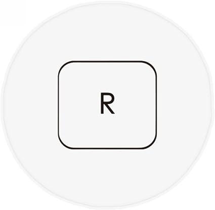 DIYthinker Teclado de símbolos r Antideslizante Piso Estera ...