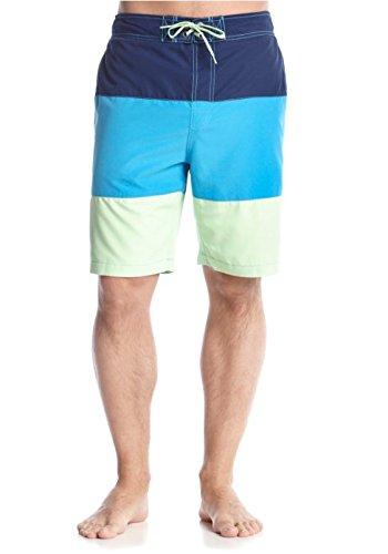 - Le TIGRE Men's Tropical Print Swim Trunks Beach Shorts (XLarge, Pistachio Green)