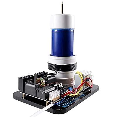 Sunnytech Solid Tesla Coil Arc Wireless Transmission Experiment Desktop Toy Model PLLSSTC
