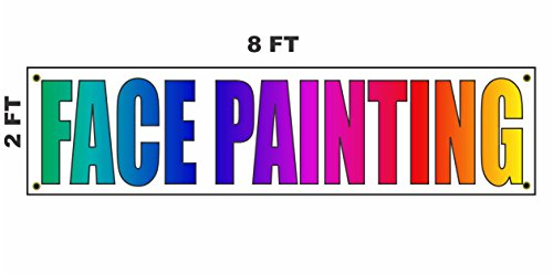 2x8 FACE Painting Banner Sign 24