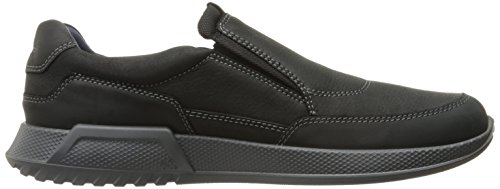 ECCO Men's on Luca Loafer Black Black Slip qPU7nrAHq