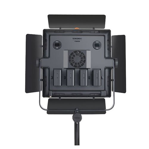 YONGNUO YN860 Video Light LED Studio Lamp 5500K FIX 95 Color Rendering 360 Degree Adjusted with AC Adapter by YONGNUO (Image #4)