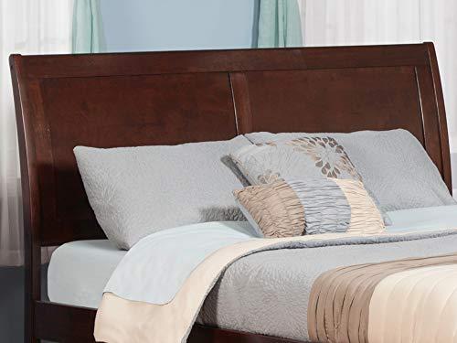 Bedroom Atlantic Furniture Portland Headboard, Queen, Walnut farmhouse headboards