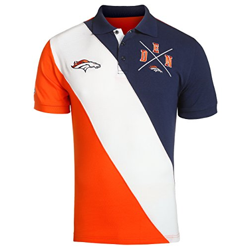 en's Diagonal Stripe Polo (Denver Broncos Polo)