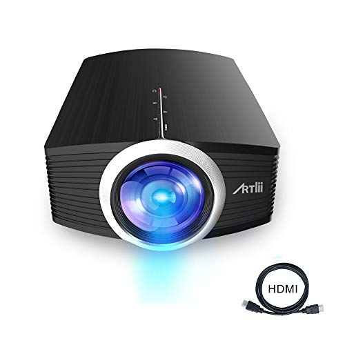 Artlii Mini Projector - Portable Projector for Kids, Eye Protection,Built-in HiFi Speaker,2000...