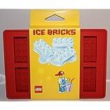 Lego Red Ice Cube Bricks Tray