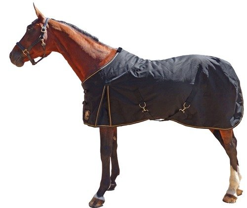 - Mary's Tack & Feed Terminator II Ultralight Horse Blanket Black 75