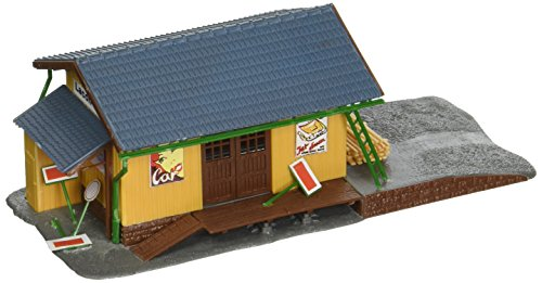 (Model Power Farmingdale Freight Station Lighted With Two Figures (Built-Up))
