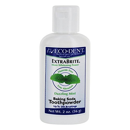Specialcare Toothpowder-Extra Brite Dazzling Mint Eco-Dent 2 oz Powder