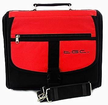 Sony Playstation 3 PS3 Slim Rojo y Negro Bolsa de Transporte para Consola/Funda. También para Uso de Coche.: Amazon.es: Electrónica