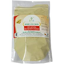 Herbs and Crops 100% Pure Natural Multani Mitti Powder (The Indian Clay) (227g / (1/2 Lb) / 8 Ounces)