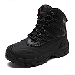 Designed for cold and wet outdoor conditions, these boots feature waterproof protection and microfiber and heat Reflective lining, maximizing warmth and comfort all-day. The durable rubber outsole will lets you challenge the winter wilderness...