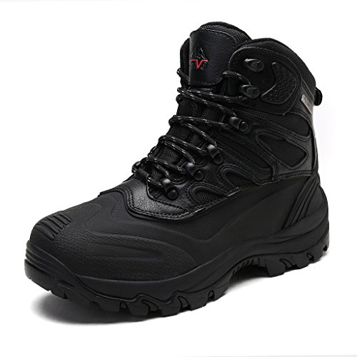arctiv8 Men's Nortiv8 161202-M Black Insulated Waterproof Work Snow Boots Size 9.5 M US