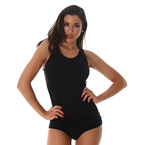 Jela London - Camisa deportiva - para mujer negro