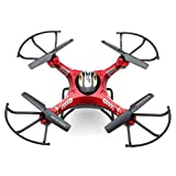 Quadcopter,Elaco H8DH 6-Axis Gyro JJRC 5.8G FPV RC Quadcopter Drone HD Camera With Monitor