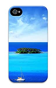 iPhone 4 4s Cases & Covers - Coasts And Islands Custom PC Soft Case Cover Protector for iPhone 4 4s