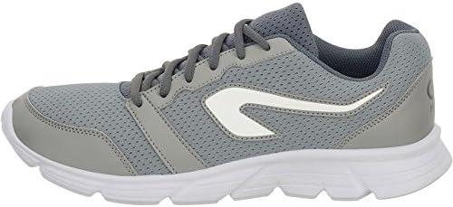 Kalenji - Zapatillas de Running de Caucho para Hombre Plateado Plata 40, Color Plateado, Talla 46 EU: Amazon.es: Zapatos y complementos