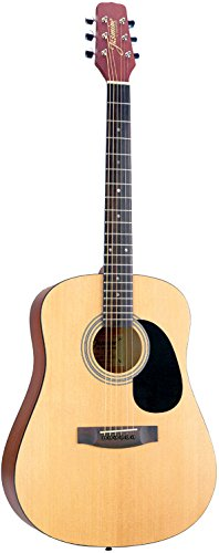 Acoustic Dreadnought Natural - Jasmine S35 Acoustic Guitar, Natural