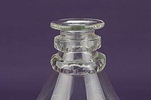 Cristal tallado manualidades decantador vino de postre rojo vino ...