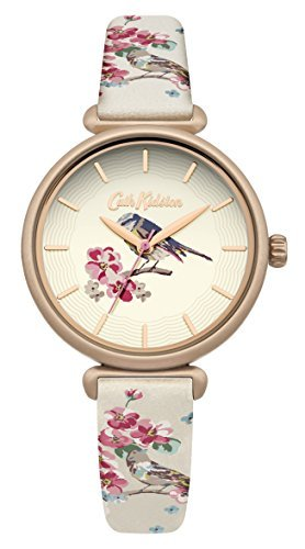 [Cath] Cath Kidston watch 3 needle floral CKL041EG Ladies [regular imported goods] by Cath Kidston (Cath)
