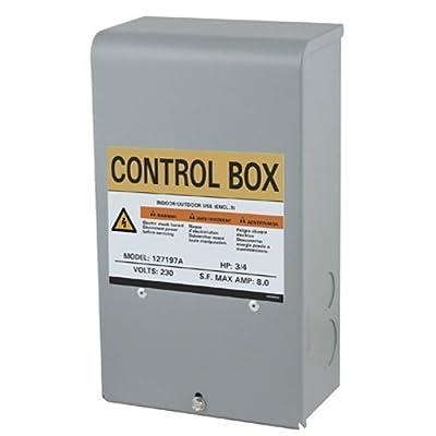 PENTAIR WATER 127197A 3/4 hp 230V Control Box