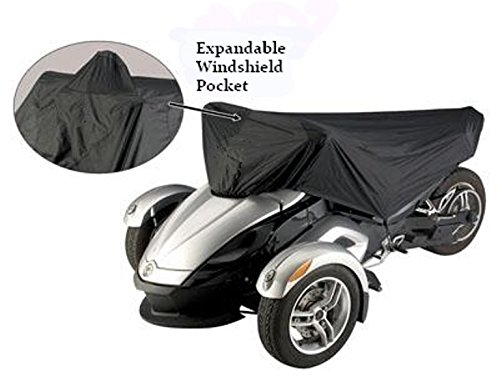 Can-Am Spyder RS, Spyder F3, F3-S Sports Model Half Cover - Keep Your Seat and Valuable Instruments Cool, Dry and Free from Dust