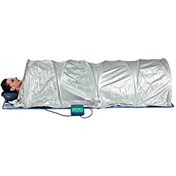 XL Sauna Portable Dome Tent FIR Infrared 360 Degree Surround Healing Heat Ceramic, 110v