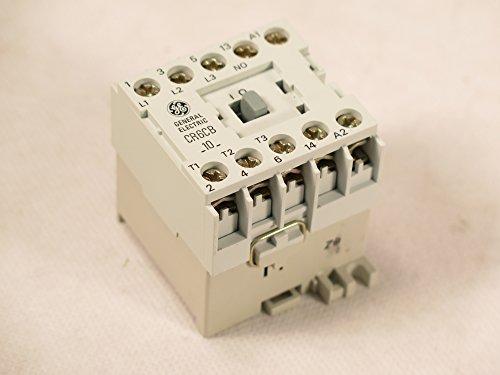 CR6CBJ GE MAGNETIC CONTACTOR FITS SPRECHER SCHUH CA4-9-10 48 AC (Ge Magnetic Contactor)