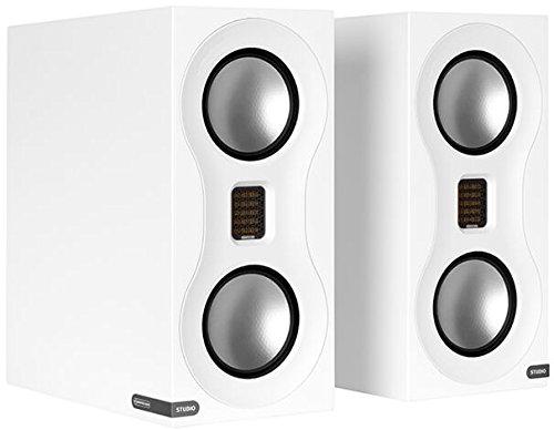 Monitor Audio Studio Premium Bookshelf Loudspeaker Pair White ()