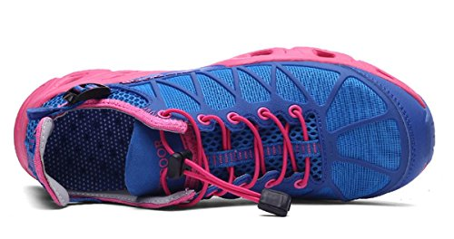 Hiking Walking Sneakers HS666 Bluerose Women for Quick Outdoor Dry Unisex TZT Men Shoes TZTONE Breathable PpHqIOvR
