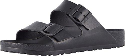 Birkenstock Unisex Arizona Essentials EVA Black Sandals - 38 N