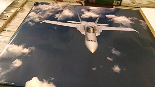 1980's FA-18 fighter jet Hornet USAF NOS wall poster PBX3464 ()