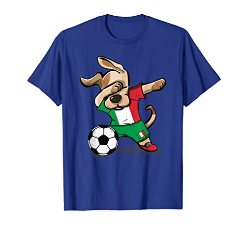 Dog Dabbing Soccer Italy Jersey Shirt Italian Football 2019