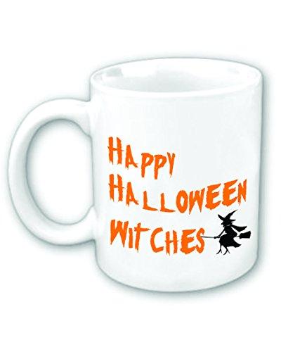 Happy Halloween Witches Coffee Mug -