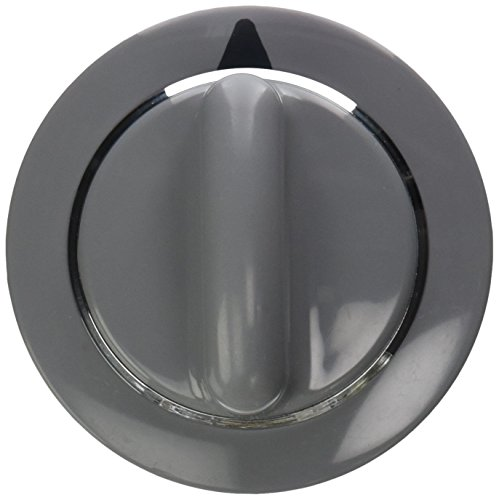 WE1M964 GE Dryer Knob Asm Timer Grey