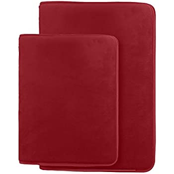 Barn Red Memory Foam Bath Mat