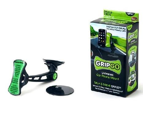 GripGo Universal soporte de coche funda para teléfono celular GPS navegación manos soporte: Amazon.es: Electrónica