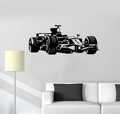 V-studios Vinyl Decal Formula 1 Race Car Garage Decor Children's Room Wall Sticker 118ig (Best Formula One Races)