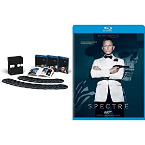 Amazon Exclusive: The James Bond Collection + Spectre (24-Film Collection) [Blu-ray + Digital HD]