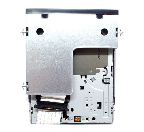 Genuine Dell UT835 Slim Black IDE Internal 1.44M Floppy Drive + Ribbon Cable For Use With Optiplex 745, 755, 760, 780, GX520, GX620, Compatible Dell Part Numbers: 134-508053-382-0, FD-05HG,MPF820, FD3238T by Dell (Image #4)