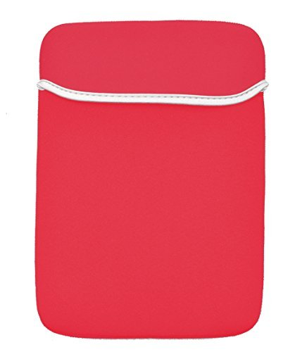 """Willful 12 Inch Soft Neoprene Laptop Sleeve Case Bag Pouch Cover for MacBook 12"""" & MacBook Air 11.6"""" and Laptop Tablet PC up to 12 Inch Red"""