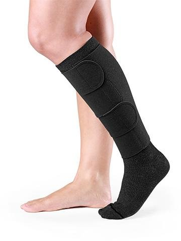 SIGVARIS COMPREFLEX LITE Below Knee Regular Length W/10-15 Mmhg Socks; Low Stretch (Small, Black)