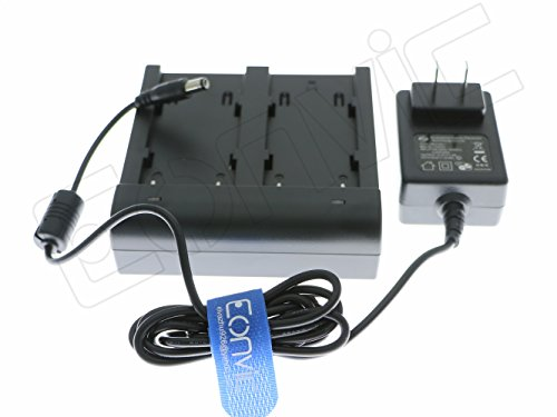 Dual Charger for Trimble 5700/5800/R8/R7 GPS 54344 TSC1 GPS Receiver Battery (54344 Charger) ()