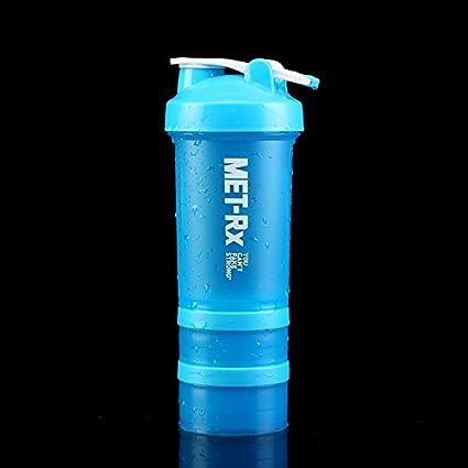 GBshop Batir la taza de proteína en polvo, taza de ejercicio, taza ...