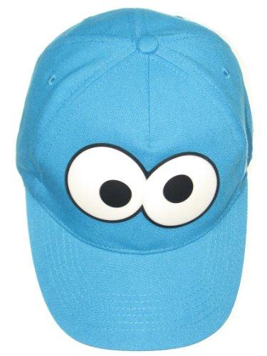 (Sesame Street Cookie Monster Eyes Baseball Cap UPF 50+ Sun)