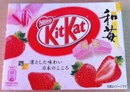 Nestle Kitkat Strawberry - Pink Kit Kat
