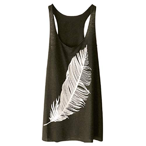 Tops for Women LJSGB Ladies O Neck Tops Ladies Sleeveless Tops Ladies Graphic Tops Ladies Fashion Tops Bluses Army Green