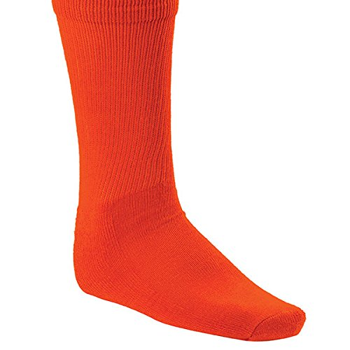 Champion Sports Rhino All Sport Athletic Socks, Neon Orange, Medium (8.5-10) ()