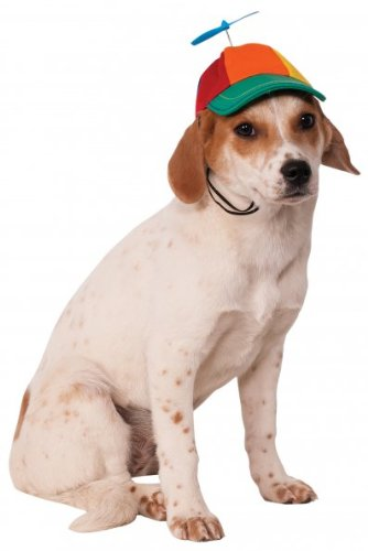 Rubie's Propeller Hat for Pets, Medium/Large, Multicolor]()